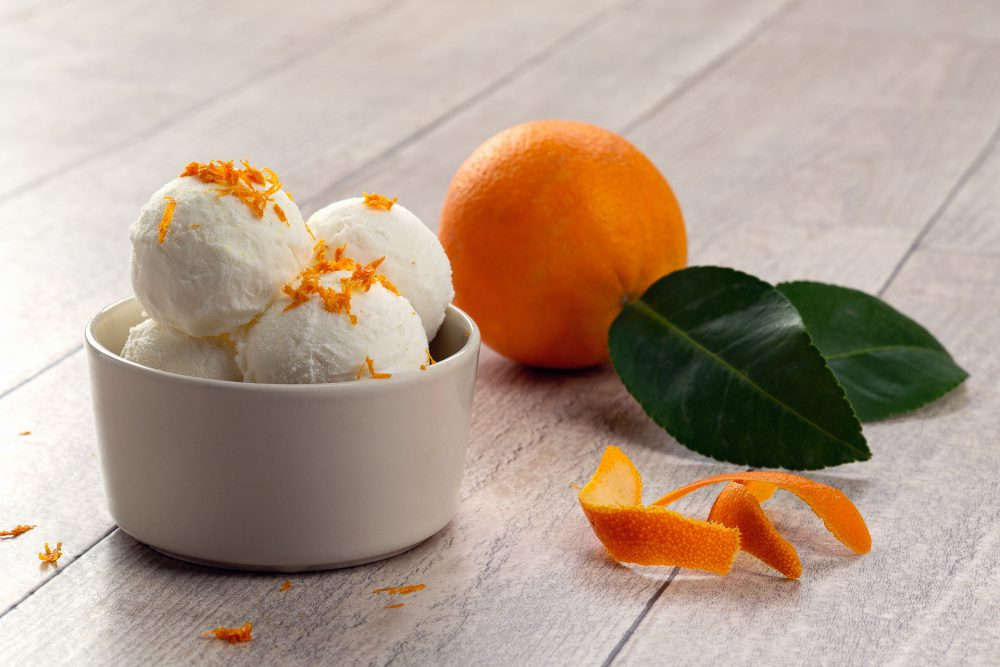 Ricotta e scorza d'arancia