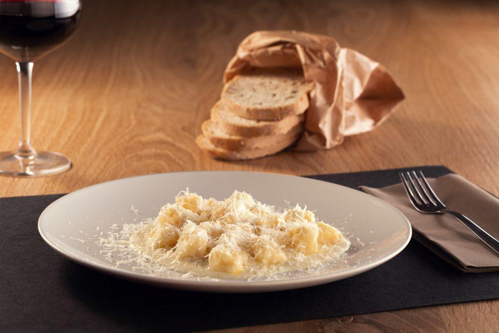Gnocchi di patate ai quattro Ferrero